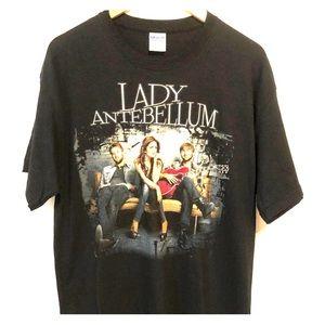 Lady Antebellum Graphic Tee Shirt by Gilden